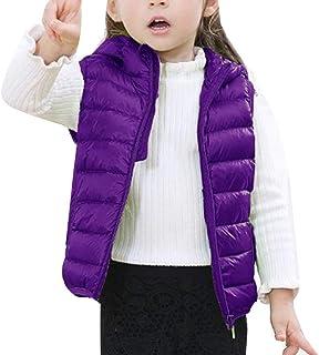 Dziecięca kamizelka uniseks z kapturem ocieplacze do ciała bez rękawów płaszcz kamizelka puchowa