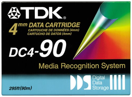 TDK DC4-90RBX 4mm Data Storage Cartridge 90