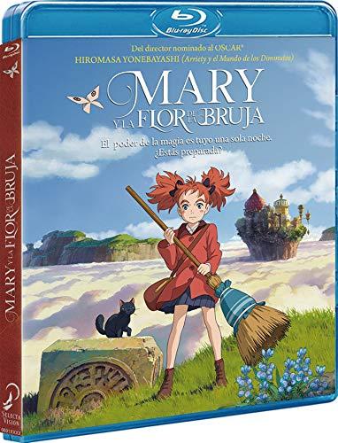 Mary Y La Flor De La Bruja Blu-Ray [Blu-ray]