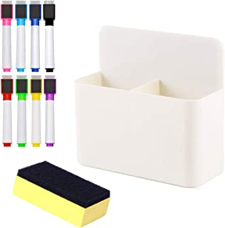 4PCS Magnetic Whiteboard Eraser Osuter Whiteboard Pen Whiteboard Wipe Board Eraser Whiteboard Rubber Whiteboard Markers Blackboard Cleaner for Home Office School Whiteboards Notice Boards
