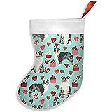 Wheatleya Pastor Australiano Valentines Cute Love Dogs Christmas Medias, calcetines para decoraciones navideñas