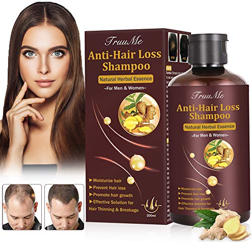 Cabello Champú,Anti Caída del Cabello,Champu Crecimiento Cabello,Hair Loss Shampoo,Promover la Crecimiento del Pelo,Prevención de la pérdida del cabello Tratamiento de la pérdida del cabello(220 ml)