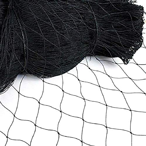 Vosfast 50' X 50' Bird Netting for Bird Poultry Aviary Game Pens New 2.4' Square Mesh Size to Protect Fruit Trees Plants,Suitable for Gardens, Farms, Orchards, etc.