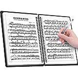 【陌の街角】60ページ 楽譜ファイル A4サイズ 楽譜入れ 直接書き込めるデザイン 楽譜ホルダー
