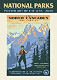 National Parks Poster Art of The WPA Oversize Wall Calendar 2020 Large Monthly January-December 13.38'' x 19''