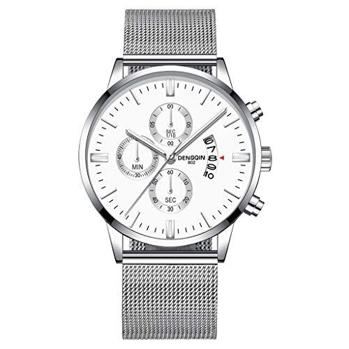 NINGSANJIN Herrenuhren digital Armbanduhren für Herren automatik
