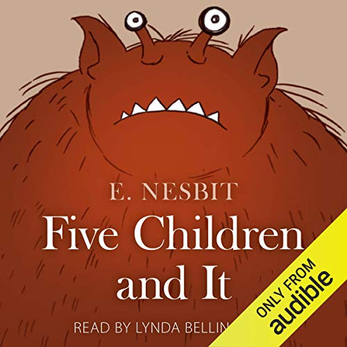 Five Children and It audiobook cover art