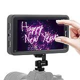 Desview-R5-カメラモニター-タッチスクリーン-一眼レフ用モニター 5.5インチ1920*1080 3D LUTs 4K信号入力/出力 カメラ外付けモニター