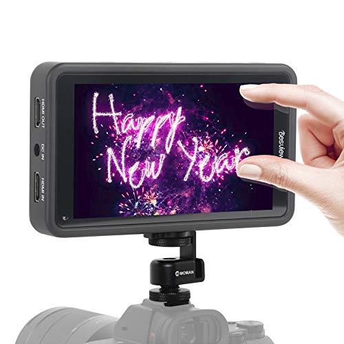 Desview R5 Monitor-Esterno-Reflex-4K-DSLR 5.5 Pollici Touch Screen 450nits, Monitor da Campo 1920 * 1080 Full HD con 3D LUTs/HDR, Monitor Mirrorless Compatibile per Canon, Nikon, Sony, Panasonic
