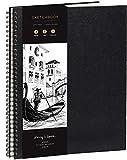 Cuaderno de Bocetos de Artista A3 - Tapa Dura, Papel muy Grueso de 200 g/m2 - Encuadernado en Espiral para Niños,...