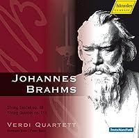 ブラームス:弦楽六重奏曲第1番変ロ長調Op.18 他 (Brahms : String Sextet Op.18, String Quintet Op.111 / Voss, Buck, Verdi Quartet)