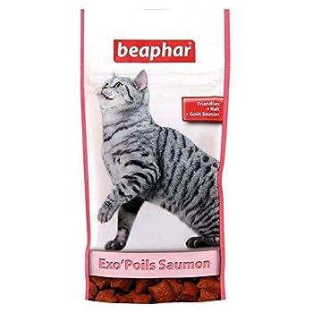 Beaphar - Friandises Exo'Poils au malt goût saumon - chat - 35 g