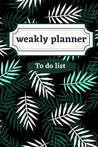 weakly planner To do list: Weakly Calendar Planner Goals And To Do List
