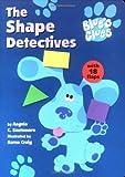 Blues Clues Super Shaped Board Book W Flap Shape Detective (Blue's Clues)