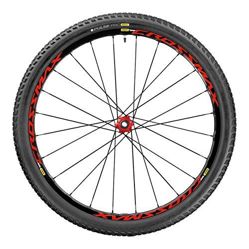 Mavic 2017 Crossmax Elite Cross Country Mountain Bicycle Wheel Tire System - Rear (Red - Rear Boost - 27.5 x 2.25) (Elite Rear Wheel)