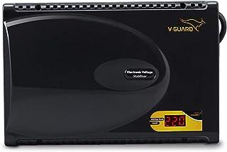 V-Guard Crystal Plus Smart TV Stabilizer (3Ampier) for LED/3D/Smart TV upto 47 inch , Black