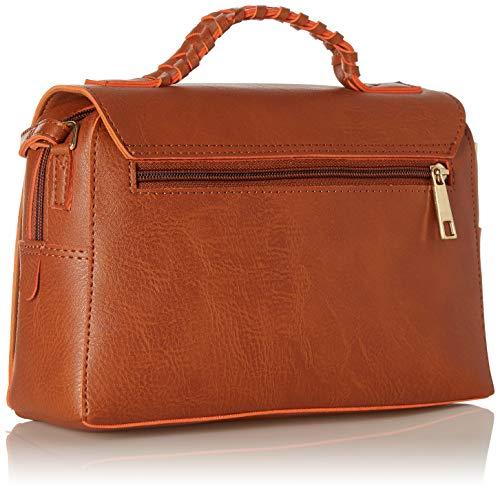 Baggit L Women's Shoulder Bag (Orange) (Unitsnits 1)