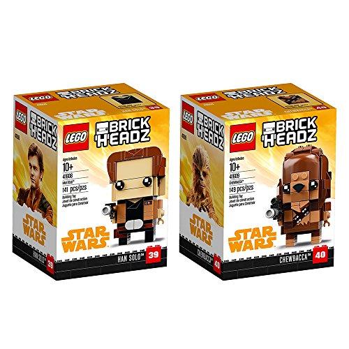 LEGO Brickheadz Han Solo & Chewbacca Bundle, Solo: A Star...