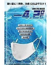 Cooling Mask マスク 冷感 メッシュ スポーツ用 ひんやり 紐調整可能 1枚入り 洗えて繰り返し利用可能 男女兼用 レギュラー サイズ