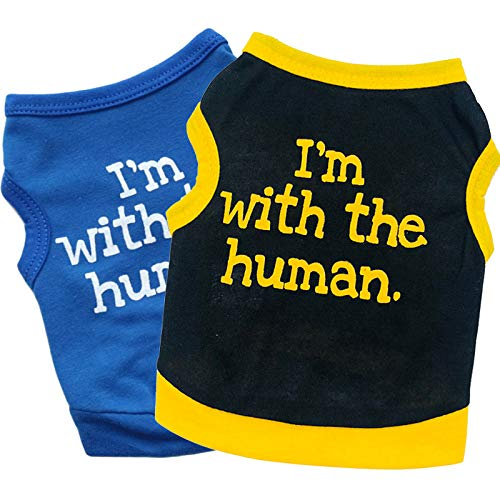 Pack of 2 Puppy Shirt Dog Shirt Cat Shirt I