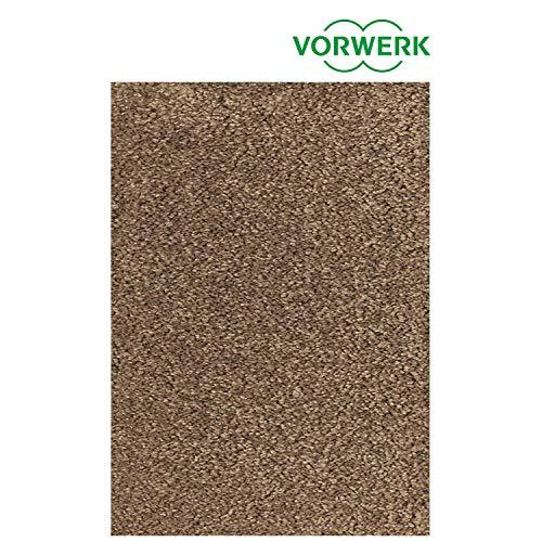 Vorwerk vlakpolig tapijt effen bruin woonkamer Muster bestellen bruin