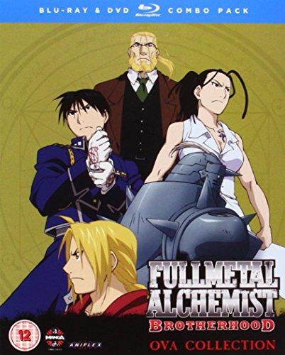 Fullmetal Alchemist Brotherhood 4 OVA Blu-Ray/DVD Combo with Digital Comic [Edizione: Regno Unito] [Import]