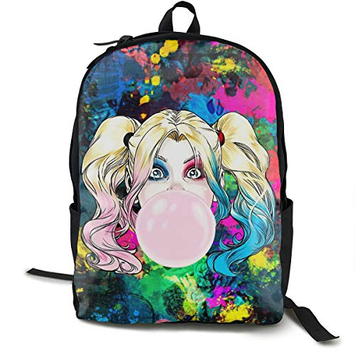 51WXb0HZm3L Harley Quinn Backpacks for School