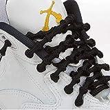 Xtenex - Cordones para zapatos unisex, Negro (Noir), 75 cm