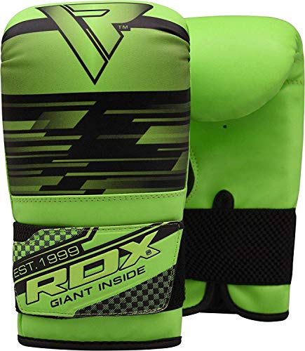 RDX Maya Hide Leather Boxing Gloves Heavy Boxing Punch Speed Bag Gloves...