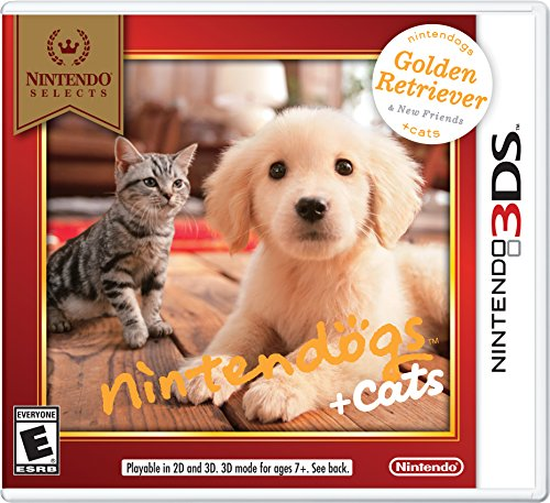 Nintendogs + Cats - Golden Retriever + New Friends (Nintendo 3DS) by Nintendo