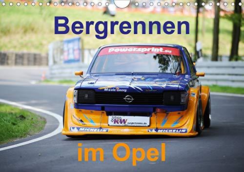 Bergrennen im Opel (Wandkalender 2021 DIN A4 quer)