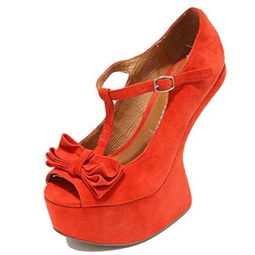Jeffrey Campbell 3362I Decollete spuntata Donna Luanne Zeppe Scarpe Shoes Women [39]
