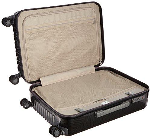 [エーストーキョー]スーツケースパリセイドZ62L60cm4kgブラックカーボン