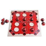 CUTICATE Netter Käfer Aus Holz Memory Board Puzzle Spiel Matching Pair IQ Brain Train Toy