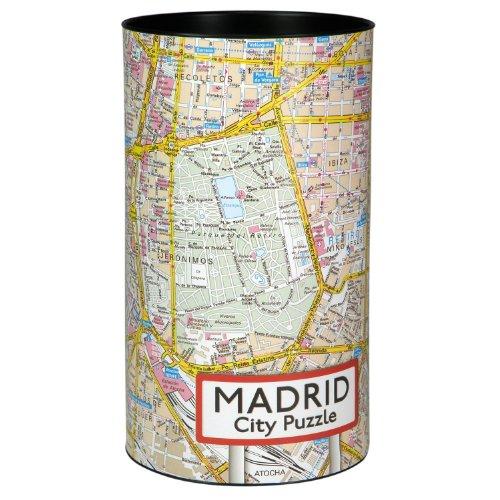 Extragoods City Puzzle - Madrid Premium Puzzle Erwachsenenpuzzle Spiele Puzzle Städtepuzzle