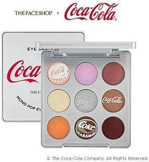 [ザ?フェイスショップ] THE FACE SHOP [モノ ポップ アイズ アイシャドウ パレット(9色) #02.シルバー ★コカ?コーラ限定版] (Mono Pop Eyes #02.Silver - Coca Cola Edition) [海外直送品]