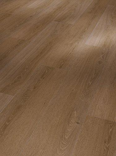 Parador Vinyl Basic 30 - Vinylboden Eiche Studioline Antik - Hochwertiger, elastischer Bodenbelag in Holz-Optik, leise und komfortabel mit Klick-Verlegung