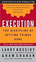 Execution (text only)1st (First) edition by L. Bossidy by R.Charan by C. Burck