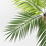 Homyl Grün Kokosnuss Palmblätter Kunstblätter Deko Künstliche Blätter - 3 - 4