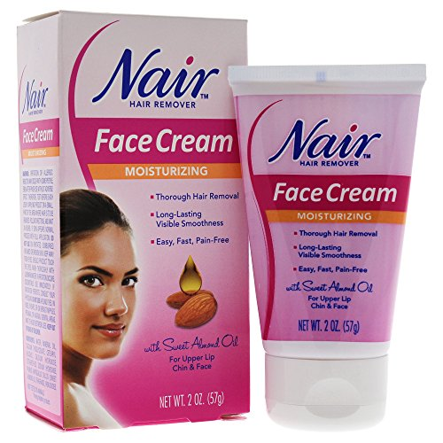 Nair Cream Hair Remover for Face with Special Moisturizers 2 oz (57 g) (Haarentfernung)