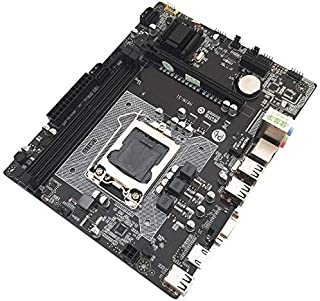AKDSteel H61 Computer Motherboard LGA1155 Socket DDR3 RTL8105E Gigabit LAN Desktop System Board with VGA/HDMI/RJ Port With Quality Assurance