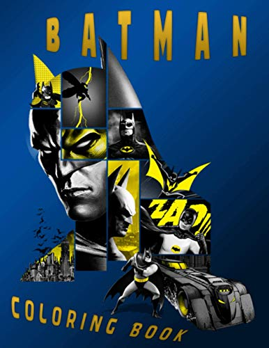 Batman Coloring Book: Special 2021 Christmas Gag Gift Batman Coloring Book For all Fans