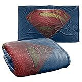 Superman Man of Steel Mos Shield Silky Touch Super Soft Throw Blanket 36' x 58',Mos Shield
