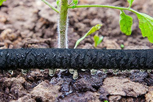 Manguera flexible porosa riego manguera de goteo para jardín Manguera de EVA riego plantas flores