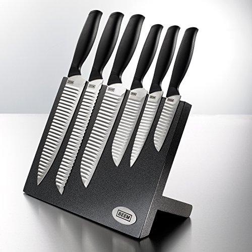 Beem Bloc couteaux aimanté 7 pièces, Hanshu-Do Master, design japonais