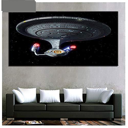 Yolada Diamant Malerei,Malen nach Zahlen,Groß,Voll Bohrer, 5D DIY Embroidery Star Trek Rhinestone Diamond Painting Mosaic Arts Craft für Home Dekor,Quadrat Drill,30x60cm