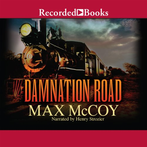 Damnation Road audiobook cover art