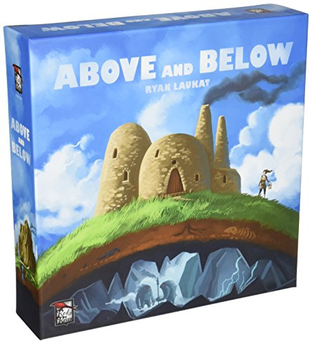 Red Raven Games Jeu de Cartes Above and Below (Version Anglaise)