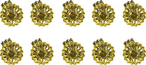 Baumkerzenhalter 10er Pack gold 10010