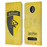 Head Case Designs Officiel Harry Potter Hufflepuff Crête Sorcerer's Stone I Coque en Cuir à...